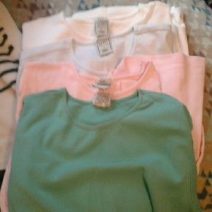 Lot of old navy easy fit shirts women's size large